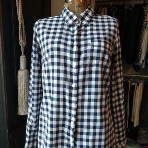 J. Crew 100% Cotton Button Down Shirt Top